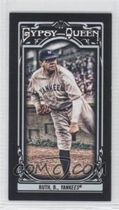 2013 Topps Gypsy Queen Mini Black #50 - Babe Ruth /199