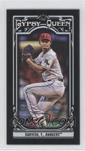 2013 Topps Gypsy Queen Mini Black #99 - Yu Darvish /199