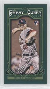 2013 Topps Gypsy Queen Mini Green #307 - Shelby Miller /99