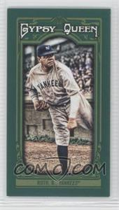 2013 Topps Gypsy Queen Mini Green #50 - Babe Ruth /99