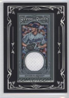 2013 Topps Gypsy Queen Mini Relics #GQMR-CK - Clayton Kershaw