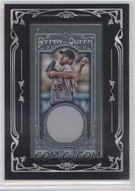 2013 Topps Gypsy Queen Mini Relics #GQMR-JV - Justin Verlander