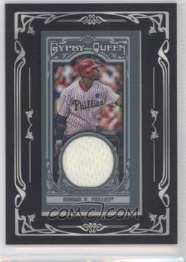 2013 Topps Gypsy Queen Mini Relics #GQMR-RHO - Ryan Howard