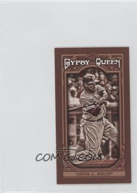 2013 Topps Gypsy Queen Mini Sepia-Tone #276 - Giancarlo Stanton /50
