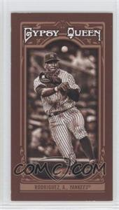 2013 Topps Gypsy Queen Mini Sepia-Tone #6 - Alex Rodriguez /50