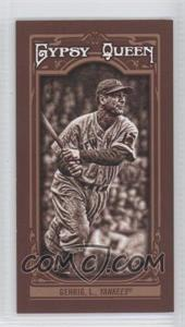 2013 Topps Gypsy Queen Mini Sepia-Tone #83 - Lou Gehrig /50