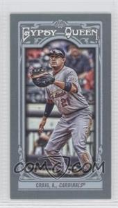 2013 Topps Gypsy Queen Mini #105 - Allen Craig