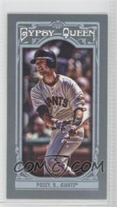 2013 Topps Gypsy Queen Mini #110 - Buster Posey