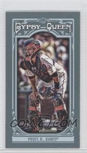 2013 Topps Gypsy Queen Mini #110.1 - Buster Posey