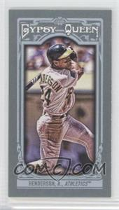 2013 Topps Gypsy Queen Mini #121 - Rickey Henderson