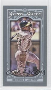2013 Topps Gypsy Queen Mini #121.2 - Rickey Henderson
