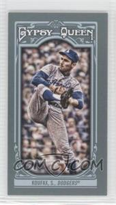 2013 Topps Gypsy Queen Mini #137 - Sandy Koufax