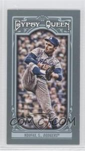 2013 Topps Gypsy Queen Mini #137.1 - Sandy Koufax