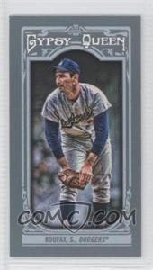 2013 Topps Gypsy Queen Mini #137.2 - Sandy Koufax