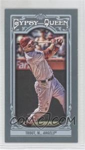 2013 Topps Gypsy Queen Mini #14 - Mike Trout