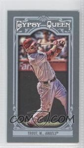 2013 Topps Gypsy Queen Mini #14.2 - Mike Trout
