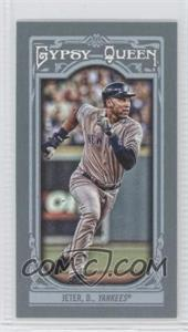 2013 Topps Gypsy Queen Mini #150 - Derek Jeter
