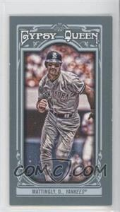 2013 Topps Gypsy Queen Mini #160 - Don Mattingly