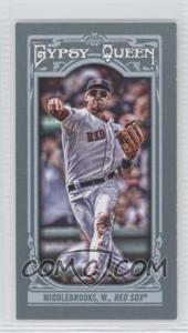 2013 Topps Gypsy Queen Mini #164.2 - Will Middlebrooks (Throwing)