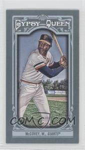 2013 Topps Gypsy Queen Mini #167 - Willie McCovey