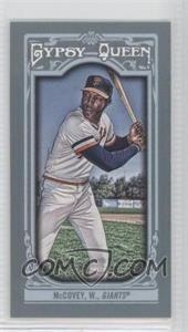 2013 Topps Gypsy Queen Mini #167.2 - Willie McCovey