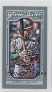 2013 Topps Gypsy Queen Mini #172 - Yoenis Cespedes