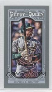 2013 Topps Gypsy Queen Mini #172.2 - Yoenis Cespedes