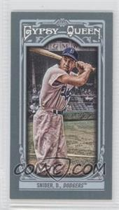 2013 Topps Gypsy Queen Mini #180.2 - Duke Snider