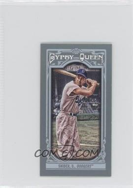 2013 Topps Gypsy Queen Mini #180.2 - Duke Snider