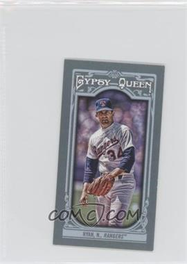 2013 Topps Gypsy Queen Mini #19.2 - Nolan Ryan