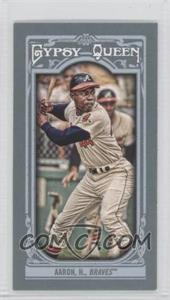 2013 Topps Gypsy Queen Mini #250 - Hank Aaron