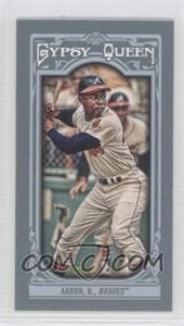 2013 Topps Gypsy Queen Mini #250.2 - Hank Aaron