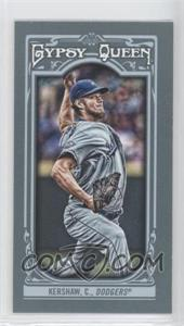 2013 Topps Gypsy Queen Mini #26 - Clayton Kershaw