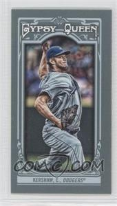 2013 Topps Gypsy Queen Mini #26.1 - Clayton Kershaw