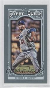 2013 Topps Gypsy Queen Mini #265 - Josh Beckett