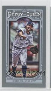 2013 Topps Gypsy Queen Mini #28.2 - R.A. Dickey