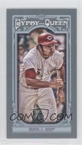 2013 Topps Gypsy Queen Mini #300 - Johnny Bench