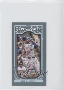 2013 Topps Gypsy Queen Mini #311.1 - Matt Kemp