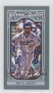 2013 Topps Gypsy Queen Mini #311.2 - Matt Kemp