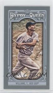 2013 Topps Gypsy Queen Mini #330 - Ted Williams