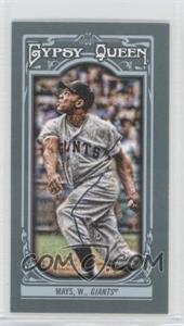 2013 Topps Gypsy Queen Mini #340 - Willie Mays