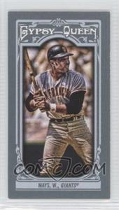 2013 Topps Gypsy Queen Mini #340.2 - Willie Mays