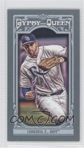 2013 Topps Gypsy Queen Mini #44.2 - Evan Longoria (fielding, grey jersey)