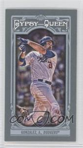 2013 Topps Gypsy Queen Mini #5 - Adrian Gonzalez
