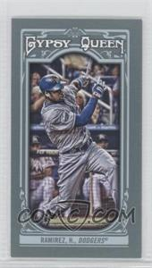 2013 Topps Gypsy Queen Mini #52 - Hanley Ramirez