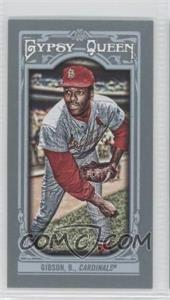 2013 Topps Gypsy Queen Mini #80 - Bob Gibson