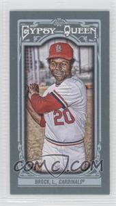 2013 Topps Gypsy Queen Mini #82 - Lou Brock
