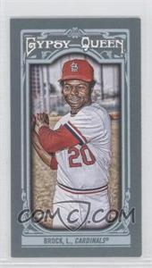 2013 Topps Gypsy Queen Mini #82.2 - Lou Brock