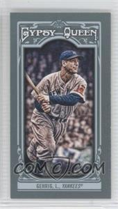 2013 Topps Gypsy Queen Mini #83 - Lou Gehrig