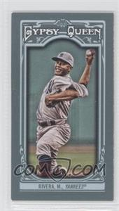 2013 Topps Gypsy Queen Mini #86 - Mariano Rivera